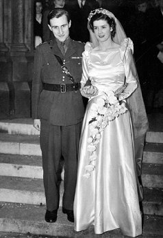 Charles and Dolores wedding on 24/11/1945