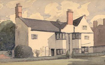 The White House, Leicester, for Arthur Gimson (Owlpen collection)