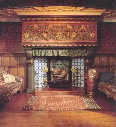 Hearth in the Great Parlour