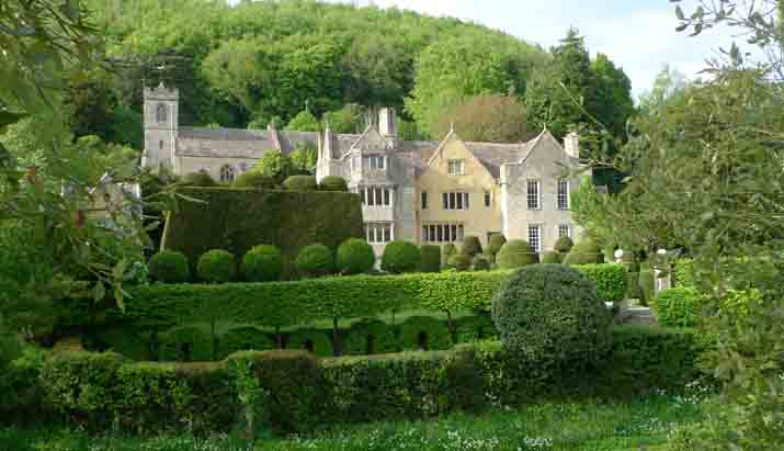 Garden Visits Owlpen Manor Tudor Manor House And