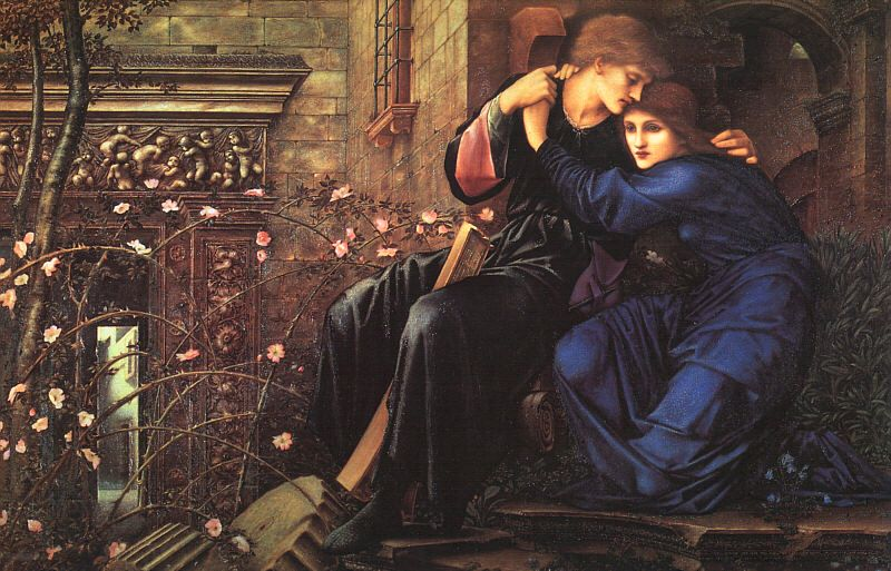 Love among the Ruins, by Sir Edward Burne-Jones, 1894