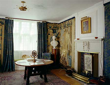 The White Parlour at Kelmscott