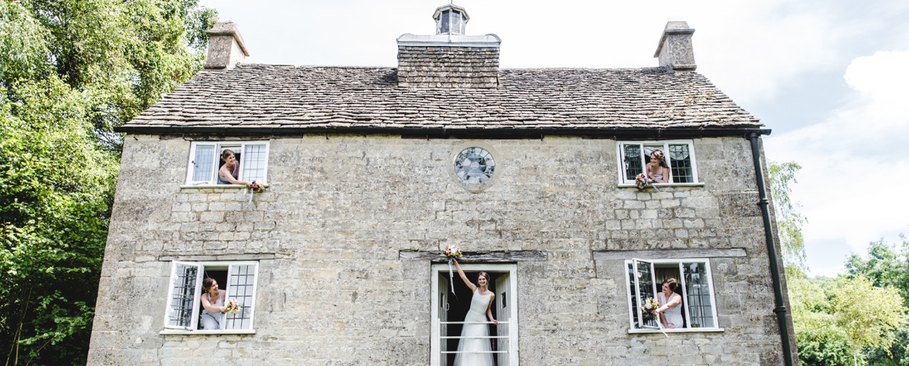 Owlpen Manor weddings Cotswolds